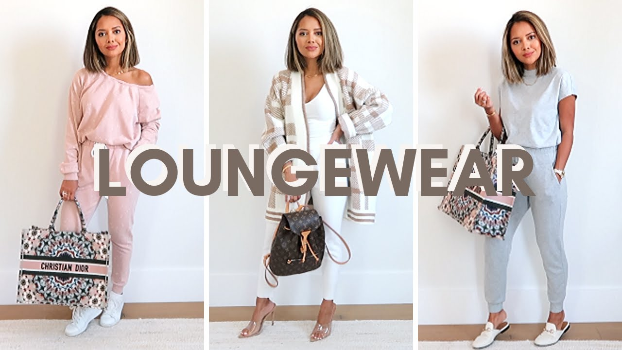 [VIDEO] - How To Style Loungewear | Comfy But Cute Outfits 8