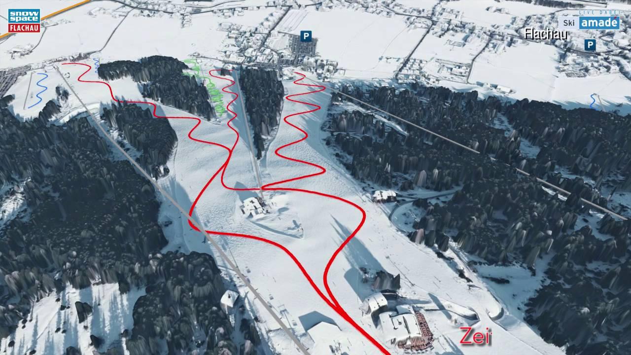 Flachau 3d Im Skigebiet Snow Space Salzburg Youtube