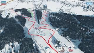 Flachau 3D  im Skigebiet Snow Space Salzburg