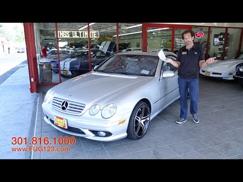 2003 Mercedes-Benz CL AMG Supercharged V8 55 for sale with test drive,walk through video