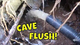 Flushing The Cave Sinkhole