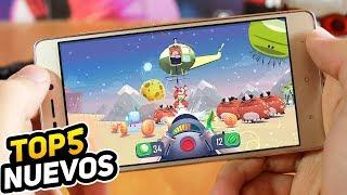 TOP 5 Mejores JUEGOS NUEVOS para Android GRATIS Diciembre 2017 | Androiosis