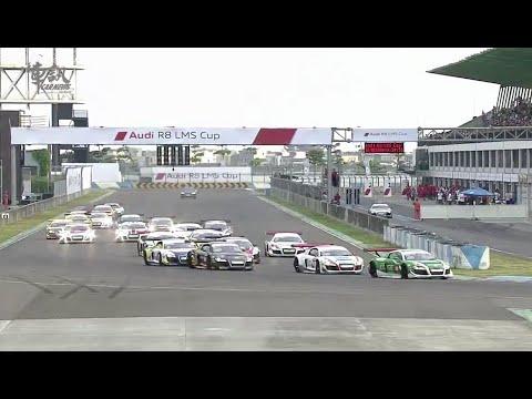 台灣首次國際賽車比賽 Audi R8 LMS Cup 花絮