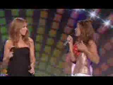 """Stayin' Alive"" - Celine Dion Vitaa, Shy'm And Amel Bent"