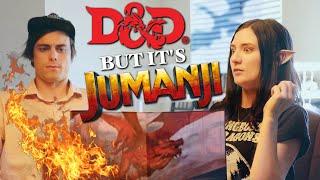 Dungeons & Dragons but it's Jumanji