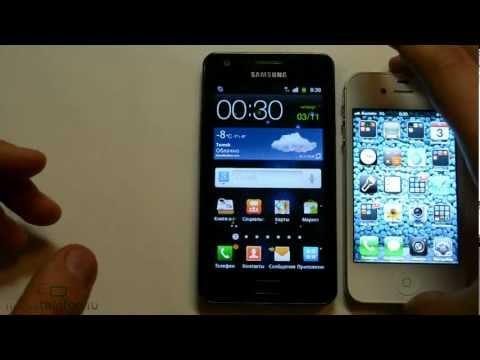 Обзор Samsung Galaxy R (I9103), демонстрация интерфейса