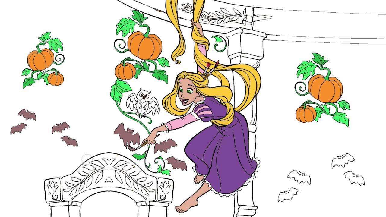 Rapunzel Cizgi Film Karakter Boyama Sayfasi 5 Minik Eller Boyama