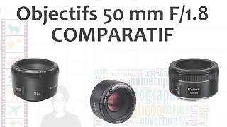 Comparatif complet des 50mm F/1.8 : Yongnuo vs Canon vs Canon STM