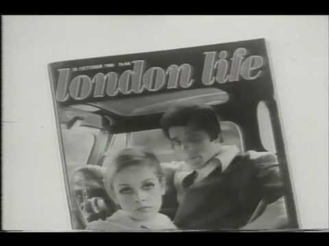 London Life The Cool 1960's Magazine Vintage British TV AD