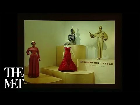 On American High Style: Fashioning a National Collection