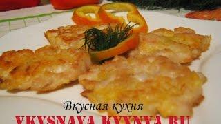 Куриные рубленные котлеты с сыром, простой и быстрый рецепт приготовления из филе куриной грудки