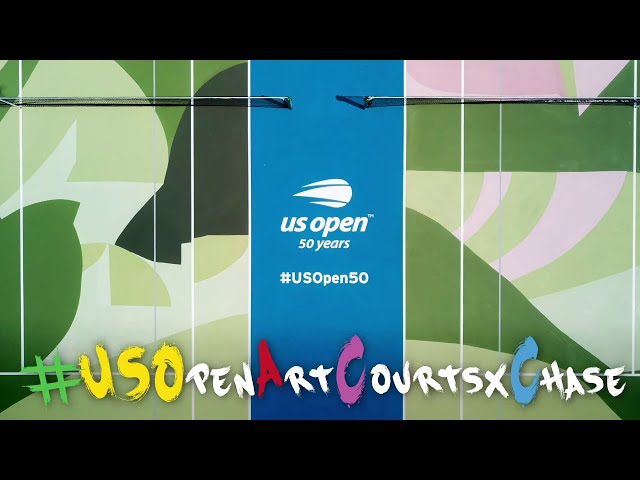 US Open Art Courts x Chase: Ivanhoe Park Art Court Unveiling  - Buy American