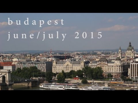 My Summer in Budapest | Short Travel Film