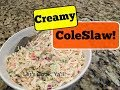 Recipe: Creamy Coleslaw | Uses Nonfat Greek Yogurt + Mayo! | Cooking for Two