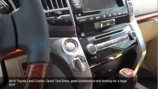 2013 Toyota Land Cruiser: Test Drive