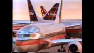 1989 USAir Dancing 737s Commercial