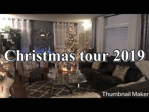 Tour de mi sala y comedor Navideño/Living room And dinner room Christmas tour 🎄🎅