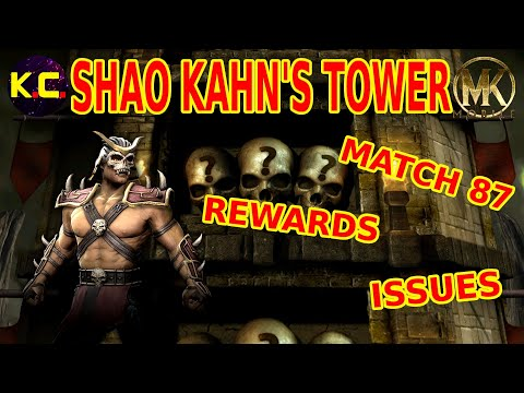 MK Mobile - Shao Kahn's Tower: Rewards, issues and match 87!