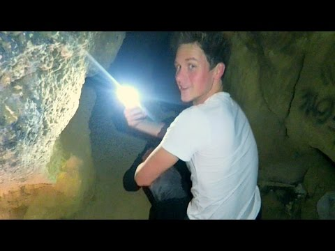 EXPLORING AN ABANDONED CAVE!