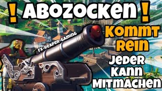 CUSTOM GAMES!!!!/MIT EUCH ZOCKEN!!!/ FORTNITE LIVESTREAM/ DEUTSCH