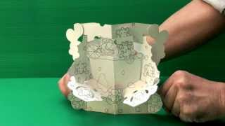 Amazing 3D Pop Up Cards - Mouse (Uncompleted)