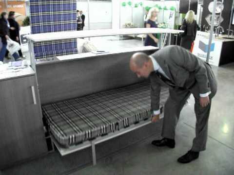 Стол кровать горизонтальная мебель трансформер рф doovi.