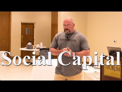 Social Capital with John Musser | 2017 SSCA Conference