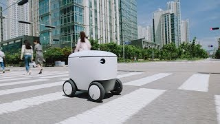 [배달의민족]이 꿈꾸는 가까운 미래 배달로봇 라이프(Full ver.)