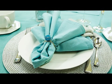 How To Make Napkin Rings Youtube