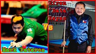 """mark pateros vs efren""""bata""""reyes9/10 @DauHomesite"""