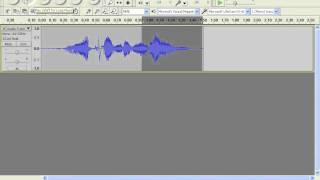 How to bleep cuss words out with audacity