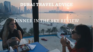 Dinner In The Sky Dubai Review   Dubai Travel Advice