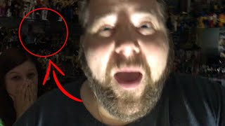 FACE OF GHOST CAUGHT ON CAMERA! (Real Ghost Footage - NOT Clickbait)
