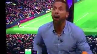 Безумная радость Фердинанда после гола Ибрагимовича