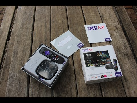 Kwese Play Unboxing. This is quite a compact device