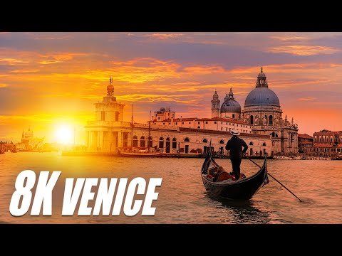 Venice, Italy 8K HDR 60FPS