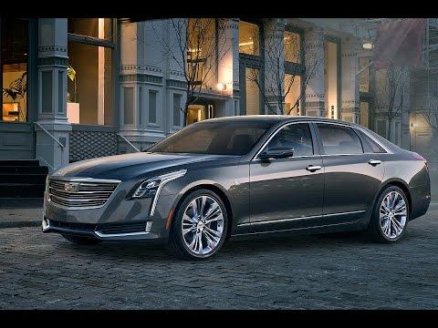 Cadillac CT6 auf der NYIAS 2015 - Neue Oberklasse-Limousine