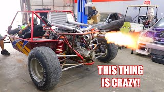 We Put a Turbo Kit On Our Sand Rail and It Sounds INSANE!