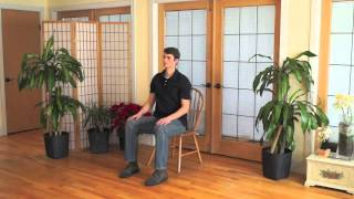Mindful Chair Yoga: A 15 Minute Beginner Practice