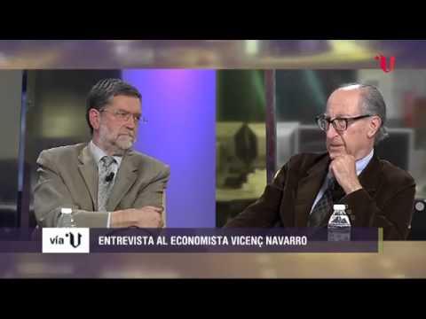 Entrevista a Vicenç  Navarro. Economía PODEMOS