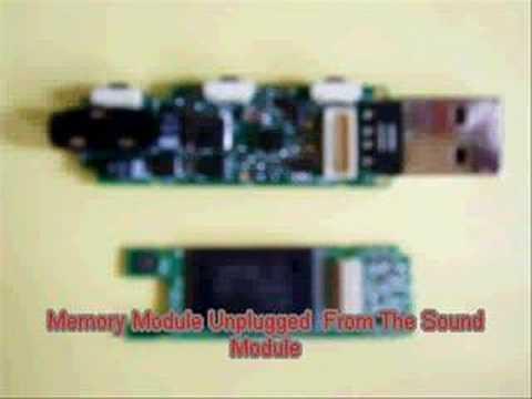 Anatomy Of A Creative MuVo MP3 Player