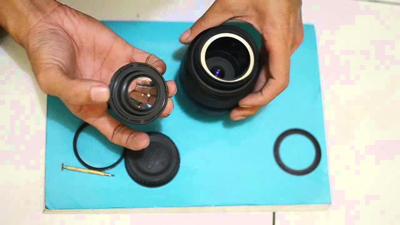Cara Membersihkan Jamur Pada Lensa Kamera DSLR - YouTube