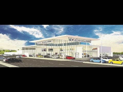 Arrowhead BMW breaks ground in Glendale for new facility
