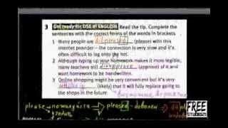 Упражнение на словообразование -2