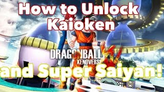 Dragon Ball Xenoverse - How to get Kaioken x20 and Super Saiyan!