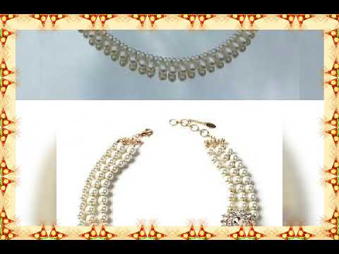 Beautiful pearls neckless collection