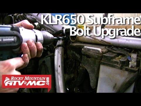 KLR 650 Subframe Bolt Upgrade Kit Eagle Mfg