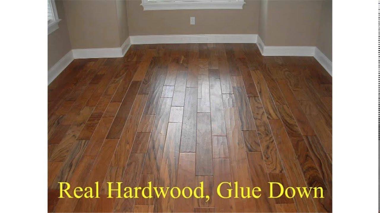 Glue Down Hardwood Flooring
