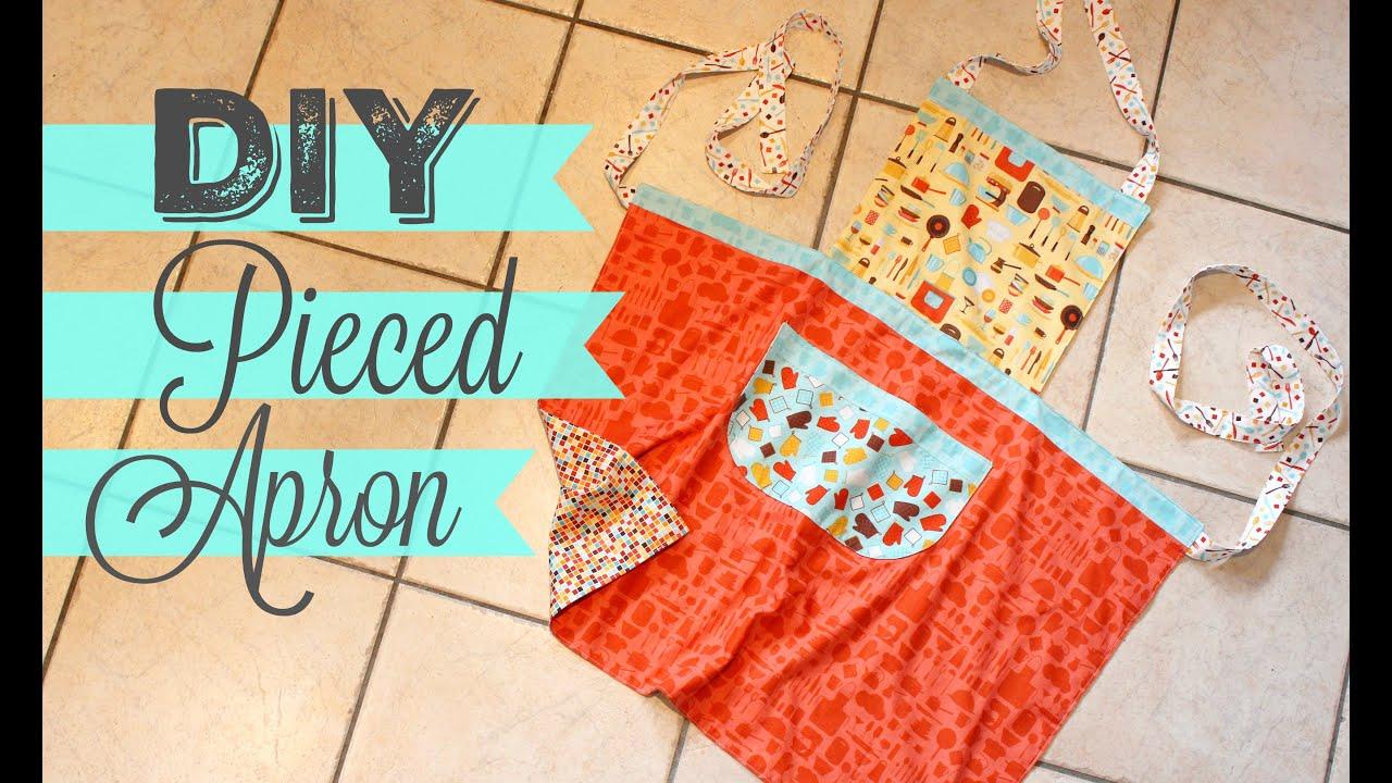 TUTORIAL: RJR Fabrics U0027In The Kitchenu0027 Pieced Apron
