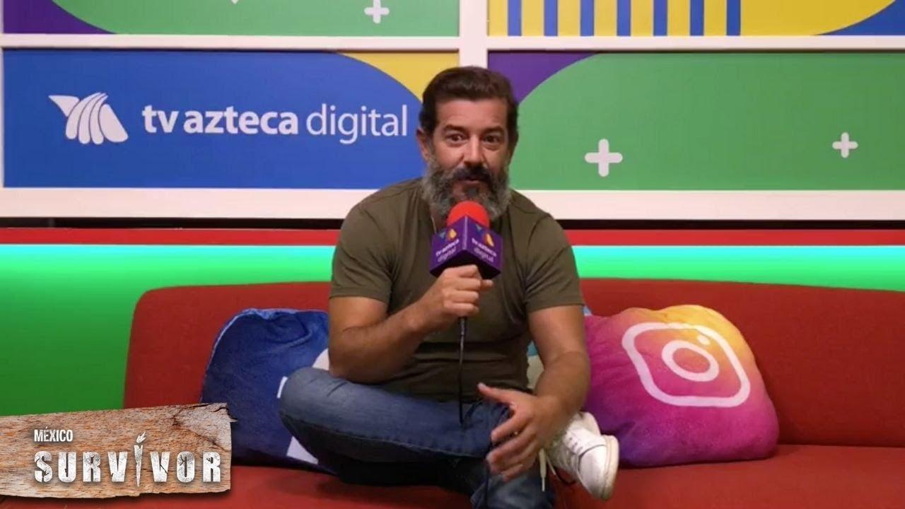 Revive la entrevista con Fernando Vélez, el último eliminado de Survivor. | Survivor México 2021